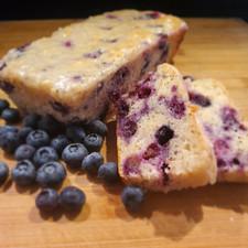 Blueberry Poppyseed Cake