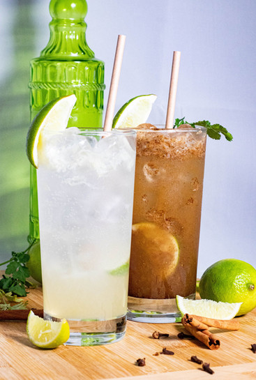 Fresh Lime Soda and Masala Soda