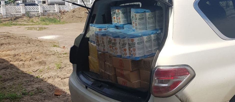 Предварительные итоги по сбору гуманитарной помощи для Забайкалья на 22.06.2021г