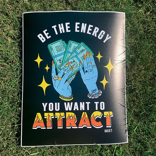 BE THE ENERGY PRINT