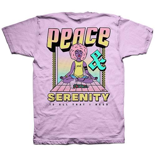 PEACE & SERENITY TEE