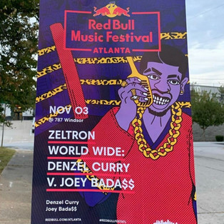 RED BULL MUSIC DENZEL CURRY POSTER