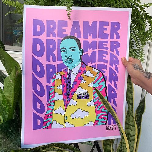 """MLK DREAMER"" PRINT"