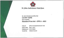 First Aid and CPR 2018