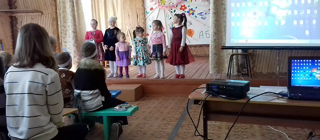 Детский садик рассказывает стихи