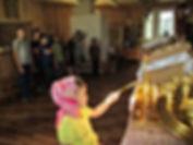 Дети паломнического центра в Смоленской церкви