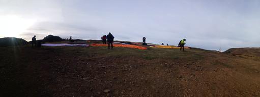 prevol avant décollage de Couraduque Val d'Azun