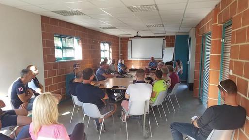 Nouvelle salle de cours/réunions 2018