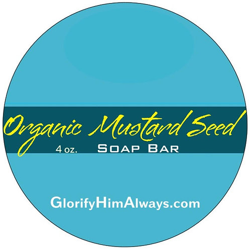 Organic Mustard Seed Soap Bar