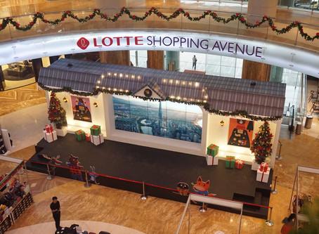LOTTE SHOPPING AVENUE CHRISTMAS DECORATION