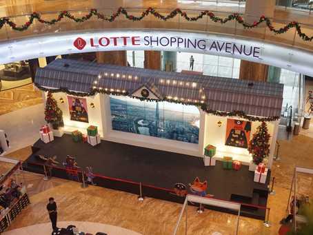 LOTTE SHOPPING AVENUE CHRISTMAS DECORATION