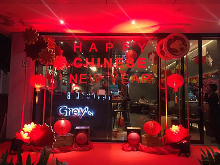 Grey's Cafe - Chinese New Year