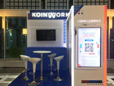 KOIN WORKS BOOTH EXHIBITION