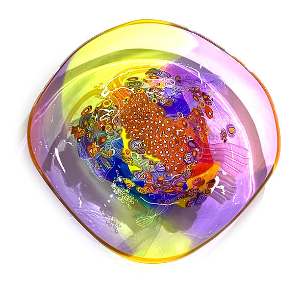 Colorfield Platter 03
