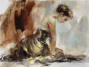 Anna Razumovskaya -Before the Dance.jpg