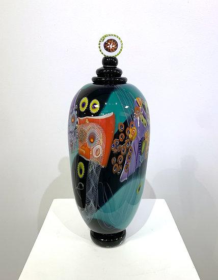Colorfield Lidded Jar 2