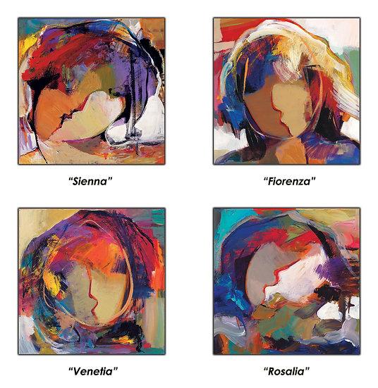 Faces Suite of Four