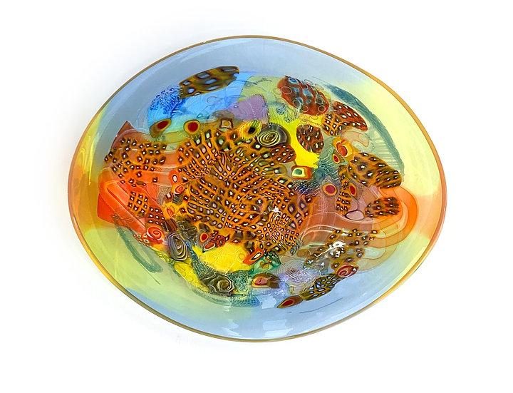 Colorfield Platter 07