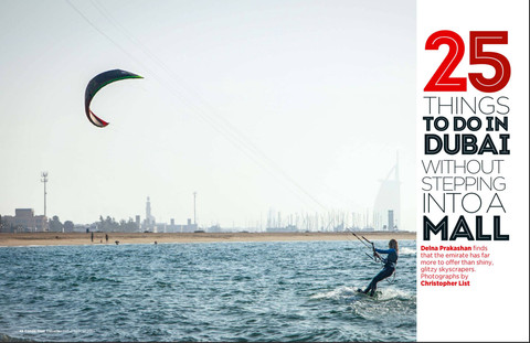 25 Things To Do in Dubai (without stepping into a mall) - Conde Nast Traveller, India
