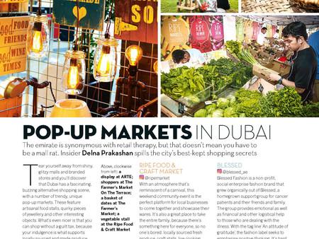 Pop-Up Markets in Dubai - Conde Nast Traveller, India