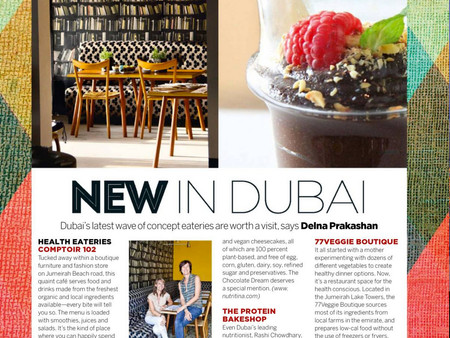 New in Dubai - Conde Nast Traveller, India