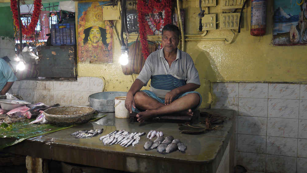 Fishmonger in Kolkata