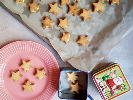 Orange and Thyme Shortbreads