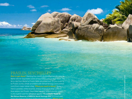 Praslin, Seychelles (5 Gorgeous Indian Ocean Islands for Your Next Vacation) - Conde Nast Traveller,