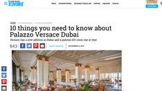 10 things you need to know about Palazzo Versace Dubai - Conde Nast Traveller
