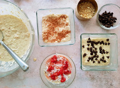 Bread and Butter Pudding x 3 ways
