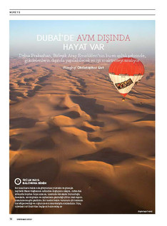 Things to do in Dubai - Conde Nast Traveller, Turkey