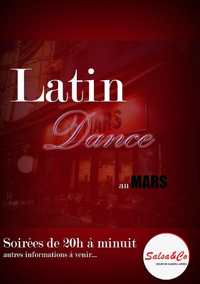 Affiche Latin Dance Salsa&co