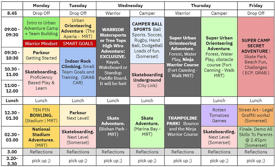 warrior camp schedule 2021.PNG
