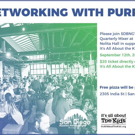 Networking with Purpose to benefit IAATK