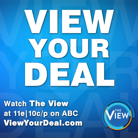 Pocket Socks and IAATK featured on View Your Deal on ABC's The View