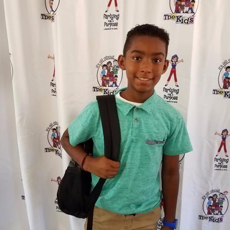 IAATK helping the kids of Serra Mesa Food Pantry