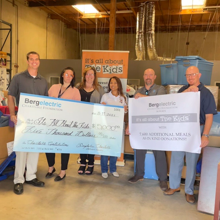Bergelectric Charitable Foundation supports IAATK