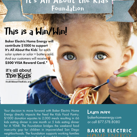 Get Solar and FEED THE KIDS!
