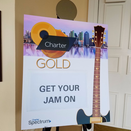 Spectrum Charter Donates Guitars