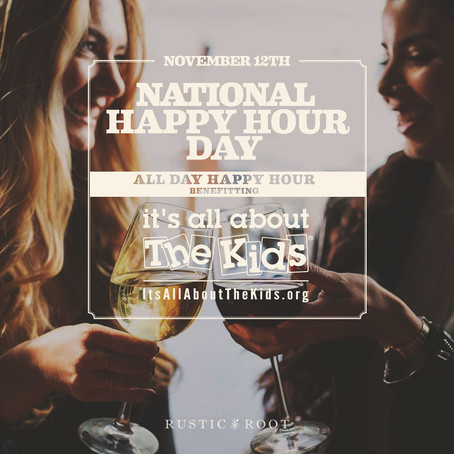 National Happy Hour Day at Rustic Root