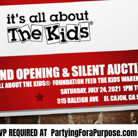 Grand Opening & Silent Auction