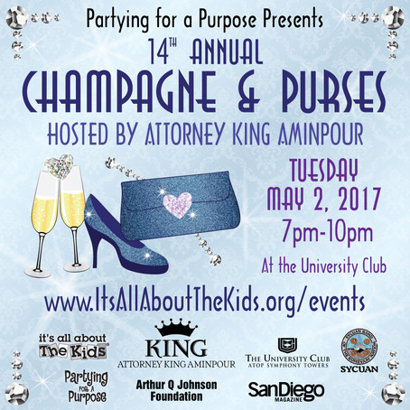 Partying for a Purpose Presents Champagne & Purses hosted by Attorney King Aminpour