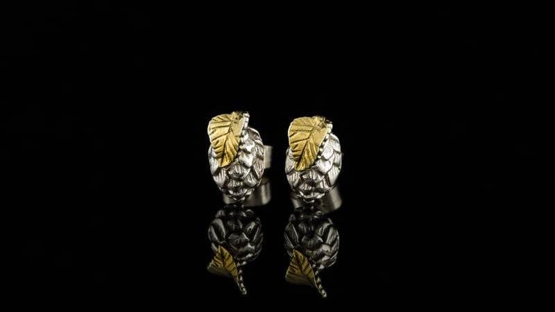 Silver Hop Earrings