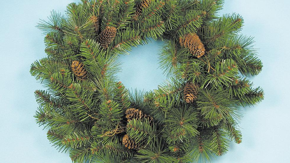 Natural Cone Wreath