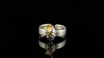 Silver Hop Ring