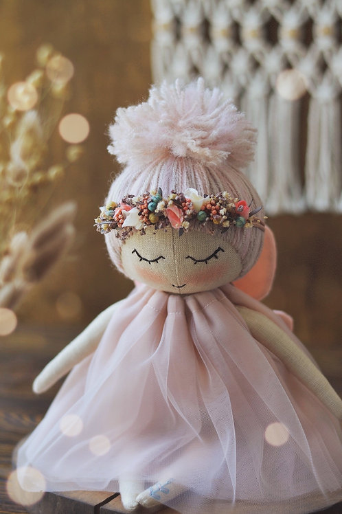 Happylabtoys - Handmade Butterfly Doll #1