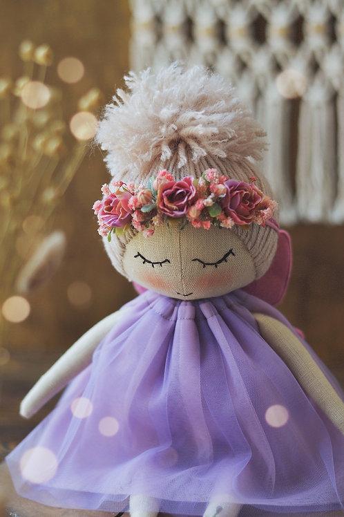 Happylabtoys - Handmade Butterfly Doll #2