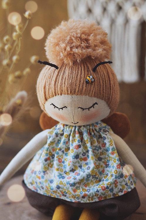 Happylabtoys - Handmade Bee Doll #1