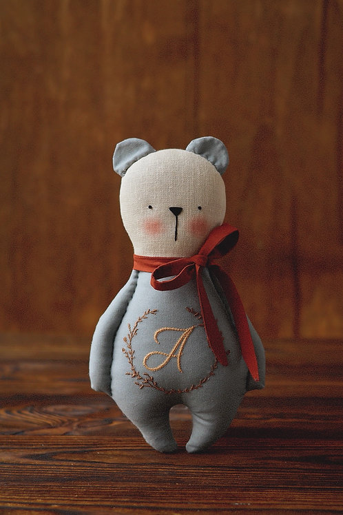Happylabtoys - Beautiful Bear With One Letter Initial