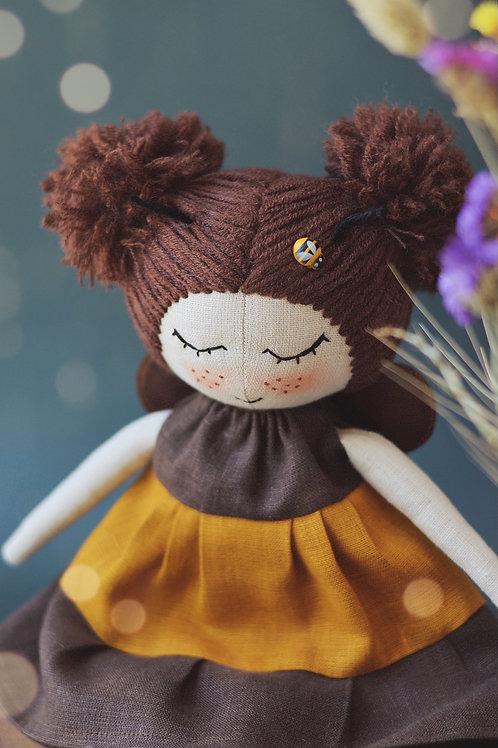 Happylabtoys - Handmade Bee Doll #2
